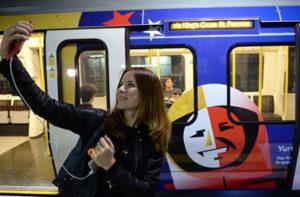 Поїзд «Серце Росії» курсує лондонським метро